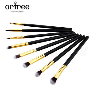 Professional factory sample eyeshadows makeup brush foam brush applicators for eyeshadows