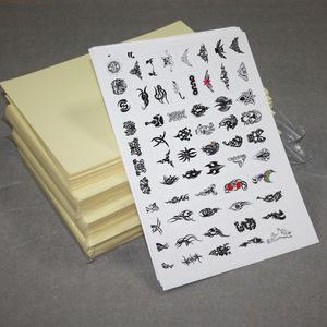 Topjlh wholesale Inkjet/Laser Printing Temporary Tattoo Paper Tattoo Sticker A4 Size