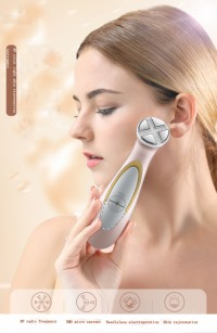 RF skin care machine/ Sain beauty machine EMS RF 6 color photon ultrasonic skin care machine