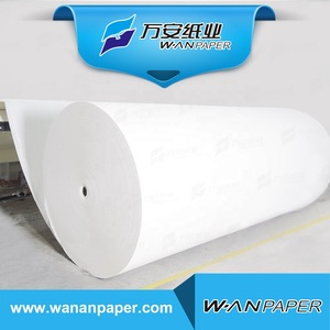 100% virgin wood pulp big jumbo paper mother tissue roll for sale