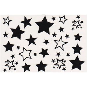 2Sheets Waterproof Stars pattern Temporary Tattoo Stickers Body Art