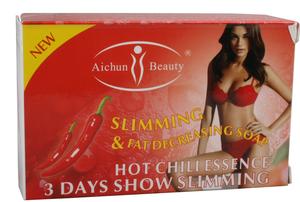 aichun beauty slimming&fat decreasing soap,slimming soap,hot chili essence 3days show slimming soap100g
