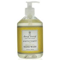 Argan Oil Liquid Hand Wash, Grapefruit Bergamot 17 Oz by Deep Steep