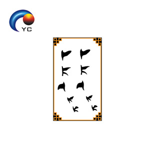Classic Black Bird Temporary Tattoo Sticker Body Painting Girls Party Supply