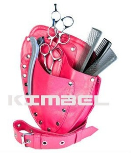 hairdresser scissor case/ barber holster/ leather case