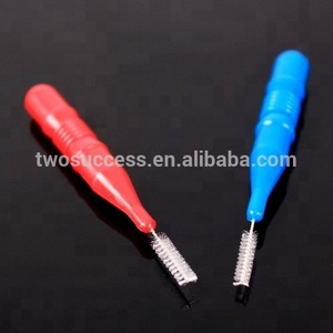 High quality tooth Dental Flosser Flossing Heads Interdental Floss Brush Heads