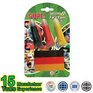 Hot Sale Fancy Football Fans Face Painting Supplies Wholesale