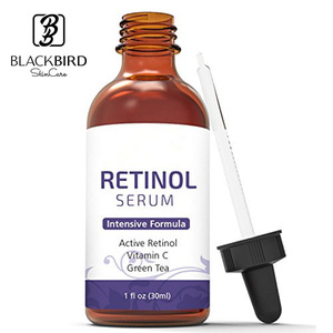 Hot Selling Anti-Aging Anti-Wrinkle Organic Hyaluronic Acid Skin Care Whitening Retinol Face Serum