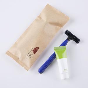 Hotel Disposable mens shaving razor with flexible razor blades