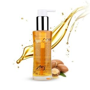 OEM Bulk Organic Cosmetic Hair Oil 100% Pure Natural Moroccan Argan Hair Oil