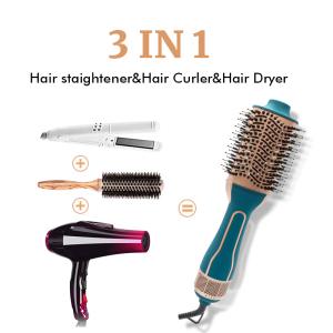 Professional Hair Dryer Hot Air Brush Styler One Step Hair Dryer
