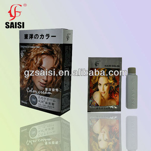 SAISI wholesale hair color cream non allergic hair dye for man and women
