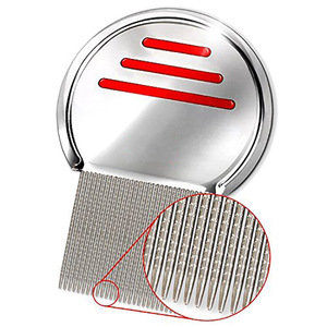 Stainless Steel Lice Removal Hair Comb for Head Lice Treatment