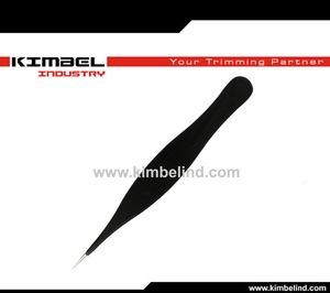 stainless steel pointed tweezers/ ingrown hair tweezers/ eyebrow tweezers