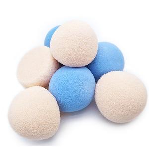 SUNNY Good Quality Body Exfoliating Washing Ball 100% Latex Free Bath Magic Sponge
