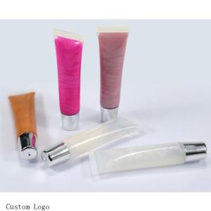 wholesale custom logo magic lipsticks clear lip tinted lipgloss rainbow lipgloss long lasting lip gloss private label lip gloss