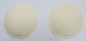 Wholesale Thicker Bra Cup Washable Reusable Towel Fabric Bamboo Nursing Pads Breastfeeding Pads