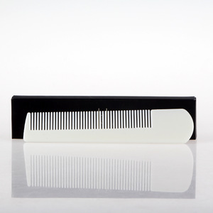 hotel cheap personalized mens plastic hair combs