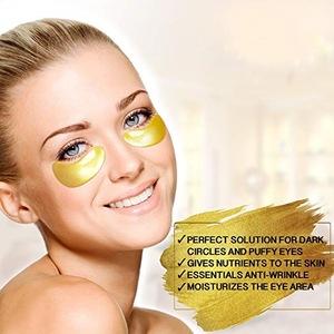 Hyaluronic Acid Crystal Eye Patch 24k Gold Collagen Eye Mask
