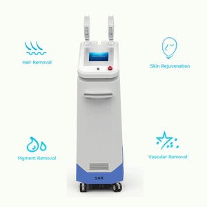Latest germany device permanent high frequency shr laser ipl hair removal machine