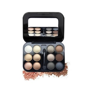 OEM 12 colors Eyeshadow Palette with one applicator