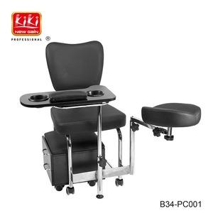 Pedicure spa. Nail chair . Nail beauty equipment. Professional salon massage chair