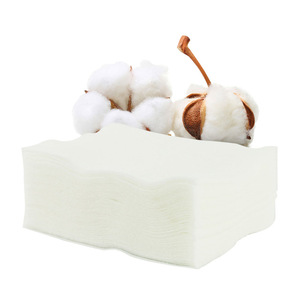 Private label cosmetic pads organic facial cotton pad manufacturer