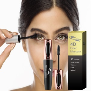 Private label made in usa wholesale cosmetics natural 4d mascara