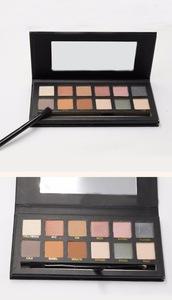 wholesale neutral makeup 12 colors eyeshadow palette private label 12 color eyeshadow palette