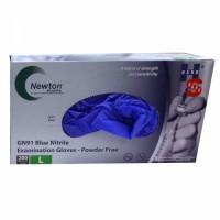 Handsafe PF Stretch Blue Nitrile Gloves, per 200 Wholesales