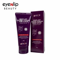 [EYENLIP] Eggplant Baking Powder Pore Scrub 100g - Korean Skin Care Cosmetics