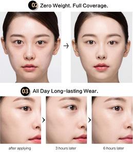 CLIO Kill Cover Founwear Cushion Xp Natural Makeup Korean Foundation Whitening Air CC Cushion
