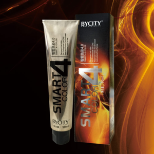 Hair Shiny Color Cream Dye Permanent with Low Ammounium for Salon Use