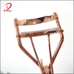 Private Label Gold metal Eyelash Curler,Stainless Steel eyelash applicator