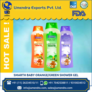 Smarth Orange Green Baby Bath Shower Gel