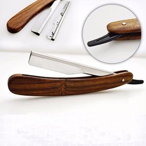 Straight Blades Barber Shaving Razor Folding Pocket Knife Fine Cutting Edge NEW