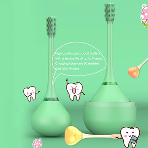 Washable Electric Mouth Clean Baby Oral Hygiene Waterproof Toothbrush Rechargeable Ultrasonic Toothbrush Children Kids