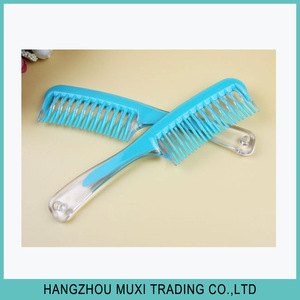 Wholesale New Products Personal Care Hair Plastic Wide Tooth Hair Comb