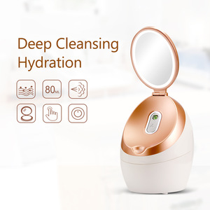 With makeup mirror nano ionic deep cleansing face wash moisturizer vapozone facial steamer