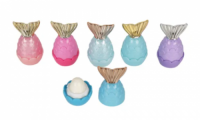 Multiple Color Customize Logo Scented Dazzling Mermaid Tail Pop Ball Lip Balm Cosmetic Lipgloss