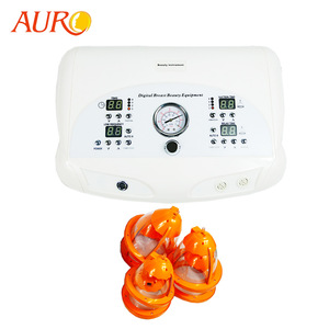 Au-6802 home use Cupping vacuum breast enlargement & skin tightening machine for sale
