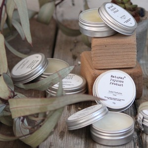 Delicate natural sweet fragrance packaging solid perfume