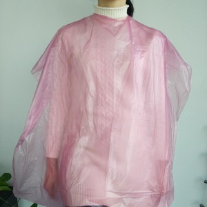 Disposable Plastic Barber Cape