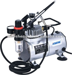 factory besting selling airbrush kit and compressor