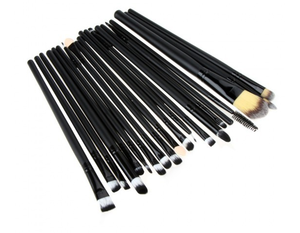 Factory direct cosmetics 20 pieces oem makeup brushes