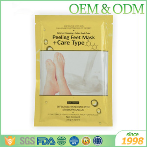Foot care product scented foot care remove dead skin cuticles heel exfoliating feet mask