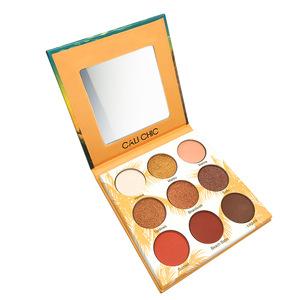 Hot Sale Paper Cardboard High Quality Makeup Eyeshadow Shiner Pigmented Eye Shadow Palette