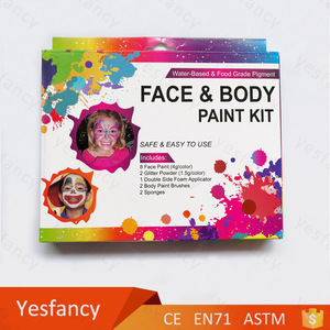 low price face body painting kit supplies wholesale