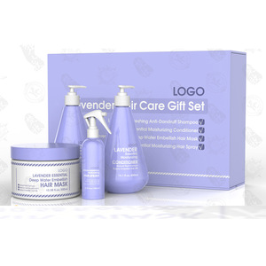 New Product Lavender Essence Hair Care Gift Set Private Label