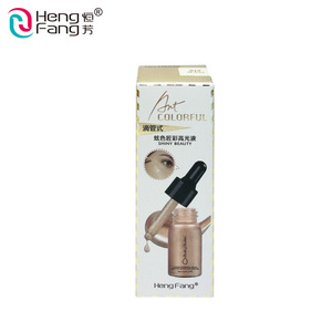 OEM Wholesale Long Lasting Full Coverage Bright Color Face Liquid Highlighter Makeup